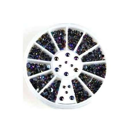 21 *. 3D AB körömlakk strasszos kristálytisztító csillogás manikűr tippek Dekoráció