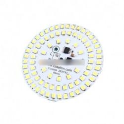 Jelölje ki a 12W 2835 tiszta fehér LED fénykibocsátó dióda 65 mm-es SMD lámpa Panel