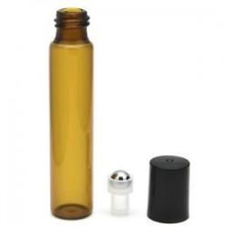 * 2 10ml. Amber Glass Liquid Reagent Pipettázza az üveg szemcseppentő aromaterápiát 5ml-100ml
