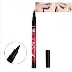 * 7 Folyékony fekete. Szépség vízálló szemceruza folyékony gél krém szemlencse toll ceruza smink kozmetikai