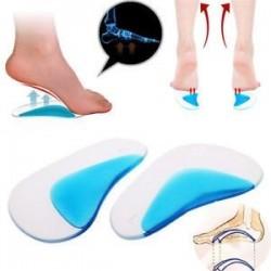 1Pair Orthotic Arch támasz talpbetét lapos láb korrekció cipőbetét párna Új