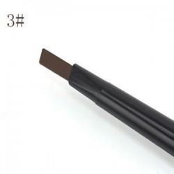 Könnyű kávé. Vízálló szemhéj szemceruza szemöldök toll ceruza kefe smink kozmetikai eszköz