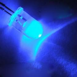 1000db 5 mm-es kerek kék víz tiszta fény LED dióda szett
