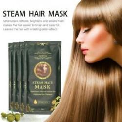 Haj maszk Automata fűtés gőz keratin Argan olaj kezelés károsodott haj JP