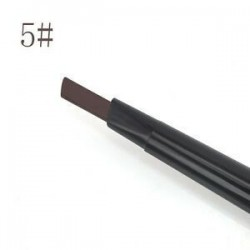 Sötét kávé. Szépség smink vízálló szemöldök szem szemöldök ceruza vonal az ecset kozmetikai eszköz