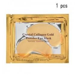 1 DB. 5/10 páros hidratáló bőrápoló gél kollagén EYE hidratáló arcmaszk Új
