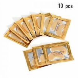 10 DB. 5/10 páros hidratáló bőrápoló gél kollagén EYE hidratáló arcmaszk Új