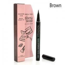 Barna. Barna 7 napos szemöldök tetováló ceruza toll Liner tartós szem smink kozmetikai