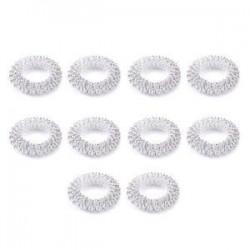 10db ezüst. 5 / 10Pcs ujjmasszázs gyűrű akupunktúrás egészségügyi ellátás akupresszúrás masszírozó