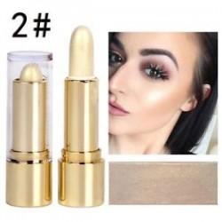 2 *. Kiemelés és kontúr pálca smink csillogó rejtegető szépség arcporkrém HOT