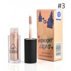 * 3 Természetes. 3 szín kiemelő folyékony csillogó kontúr fényesítő szépség smink kozmetikai