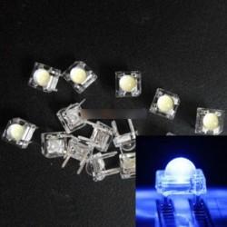 50db 5mm F5 Piranha LED kék kerek fej Super Bright VC szép fénykibocsátó dióda