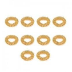 10db arany. 10db ujjmasszázs gyűrű akupunktúrás egészségügyi ellátás akupresszúrás masszírozó Hot