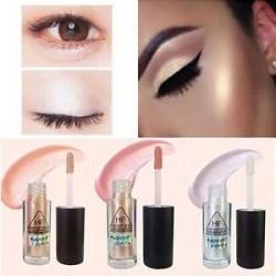 Smink kiemelő folyékony kozmetikai arc kontúr fényesítő csillogó 3Color szépség