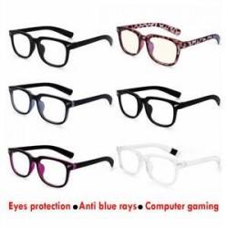 Pro Anti Blue Ray számítógép védőszemüveg kék fény blokkoló szemüveg UV szemüveg