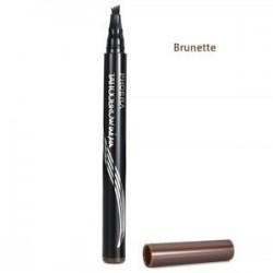 2 * BRUNETTE. 4 fej vázlat szemöldök ceruza villát tipp szemöldök tetováló toll vízálló szemöldök toll