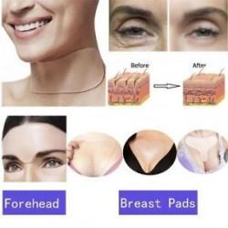 * 2 Chest Anti Wrinkle. Szilikonos újrafelhasználható ápolás a ránctalanító nyak mellkasi párnája Az öregedés elleni