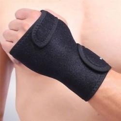 Bal kéz. Csuklós kéz brace támogatása Carpal alagút csík Arthritis Sprain stabilizátor fekete