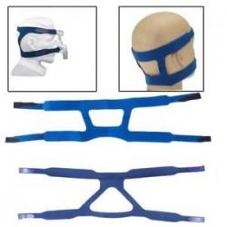 Univerzális CPAP fejfedők A fejpántok vagy a Respironics &amp  ResMed maszk cseréje