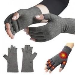 Arthritis kesztyűk tömörítés támogatása kéz csukló megkönnyebbülés brace carpalis alagút fájdalom