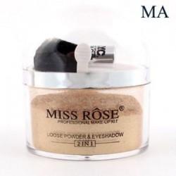 MISS ROSE kiemelő kontúr arc szem smink alapja laza por   ecset