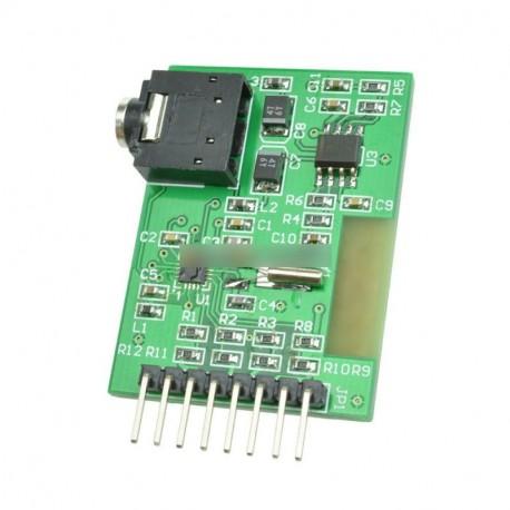 Breakout Si4703 FM RDS Tuner AVR kar PIC Arduino kompatibilis új