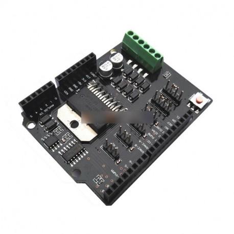 arduino motor pajzs csatlakoztatása