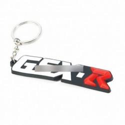 A Suzuki GSXR Motorkerékpár-3D-s puha gumi kulcstartó gyűrű távirányító 600 750 1000
