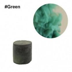 Zöld - Színes füst torta bomba kerek hatás megjelenítése mágikus fényképezés színpad támogatás játék új