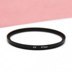 67mm - 52-82mm UV ultraibolya szűrő lencsevédő kamera Canon DSLR / SLR / DC / DV készülékekhez