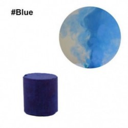 Kék - 1db színes füst torta bomba kerek hatás megjelenítése mágikus fényképezés színpadi támogatás játék