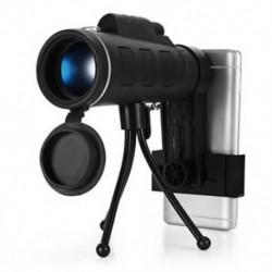 40X60 HD Mini 40X monokuláris teleszkóp BAK4 Alkalmazási terület   Telefon Clip Tripod Új