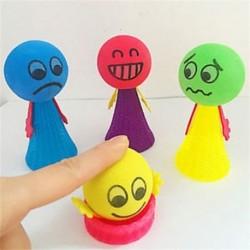 2Pcs Jump Doll Bounce Elf Fly Kreatív Gyermekek Baby Kids Oktatási Játékok Ajándék