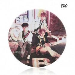 EXO - EXO Kpop tizenhét mellkas Pin Astro Blackpink EXO MAMAMOO Monsta x Kétszer jelvény bross