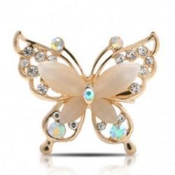 * 7 arany pillangó (4x3,5 cm) - * 7 arany pillangó (4x3,5 cm) Retro női zománc piros mák virág bross Pin Broach