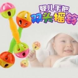 1PC Baby Toy Rattles Bell rázás Dumbells korai intelligenciafejlesztési játékok