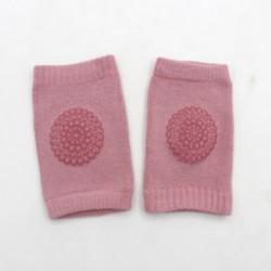 Rózsaszín - Rózsaszín Gyerekek Térdvédő puha csúszásgátló könyökpárna Csecsemő csecsemő kisgyermekek