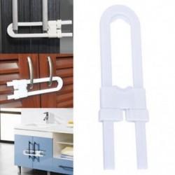 1db Gyermek csecsemő gyerek biztonsági fiókfiók ajtó szekrény szekrény U alakzár eszköz