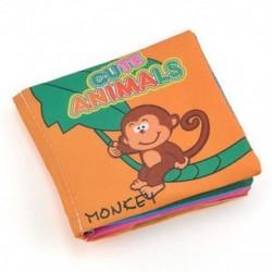 állatok - állatok Új, puha ruhával ellátott bébi gyerek gyermek intelligencia fejlesztés, puha ruházat, a könyv
