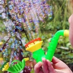 Víz fújó játékok Buborék szappan buborékfúvó kültéri gyerekek gyermek játék véletlenszerű szín