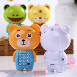 Rajzfilm zene telefon Baby oktatási játékok tanulás játék telefon ajándék gyerekeknek baba
