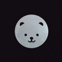 Egyértelmű - Egyértelmű 10Pcs tápkábel fedelének fedele Baby Child Protector Guard hálózati pont Plug Bear JP