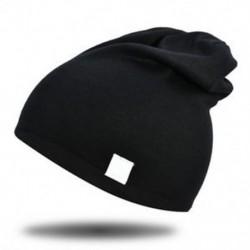 Fekete - Fekete Újszülött gyerekek baba téli meleg puha pamut kalap fiú lány csecsemő sapka sapka
