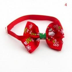 4 * - 4 * Kutya macska kisállat kiskutya aranyos bowknot nyakkendő gallér íj nyakkendő karácsonyi party ruhák