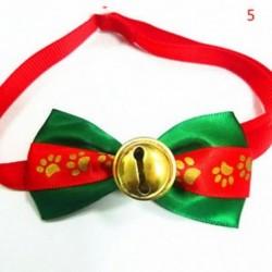 5 * - 5 * Kutya macska kisállat kiskutya aranyos bowknot nyakkendő gallér íj nyakkendő karácsonyi party ruhák