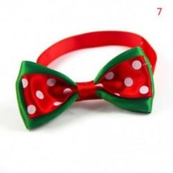 7 * - 7 * Kutya macska kisállat kiskutya aranyos bowknot nyakkendő gallér íj nyakkendő karácsonyi party ruhák