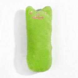* 1 1db zöld párna (10 * 4,5 cm) - * 1 1db zöld párna (10 * 4,5 cm) Új kiskutya kutya macska fogászati fogak Egészséges
