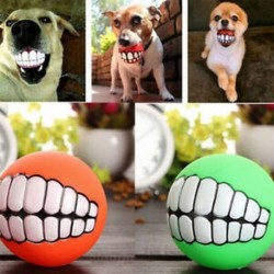 * 2 1db golyós fogak (7,5 cm) - * 2 1db golyós fogak (7,5 cm) Új kiskutya kutya macska fogászati fogak Egészséges fogak