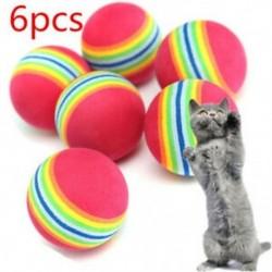 * 8 6db labdát ďĽˆ3.5cmďĽ ‰ - * 8 6db labdát ďĽˆ3.5cmďĽ ‰ Új kiskutya kutya macska fogászati fogak