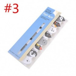 * 3 Cartoon Animal Panda macska Memo Pad matricák Öntapadó jegyzetek iskolai helyhez kötött eszköz